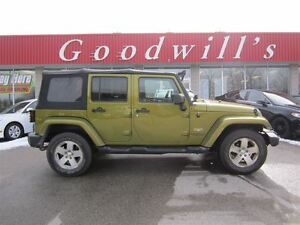 2008 Jeep Wrangler Unlimited Sahara! NAVI!