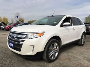 2014 Ford Edge Limited w/Leather, Navigation & Panramic Roof