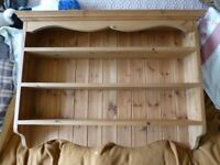 Antique Pine wall unit - Lovely condition
