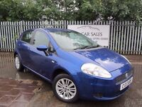 2007 Fiat Grande Punto Eleganza 1.4 5Dr. One Owner From New Full Servive History.