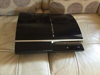 Sony PlayStation 3, PS3 console only, no games