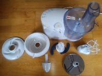 Kenwood Food Processor and attachments. Good working order