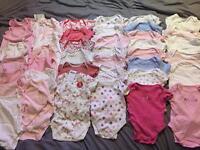 Girls Vest Bundle 6-9months 43 vests!