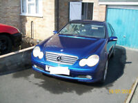 Nice Looking 2001 Mercedes C180 Coupe Good runner/ drives/ stops for Spares or Repairs see details