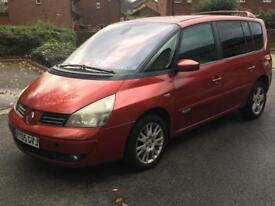 2005 RENAULT ESPACE 2.2 DCI 7 SEATER MOT AND TAX BARGAIN