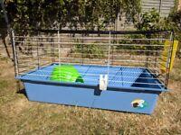 Guinea Pig Cage (indoor for1-2 juvenile guinea pigs/1 adult) Ferplast Cavie 80 used good cond.