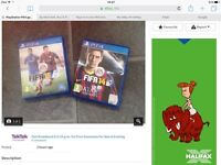 PS4 FIFA 14 & 15 - Excellent condition