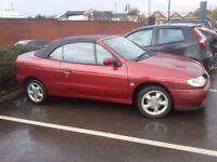 Car for Sale!! Renault Megane Cabriolet 1.6 e . 1300 £