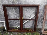 Hardwood window 1200 x 1115