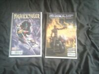 Nightcrawler & Robocop Comic
