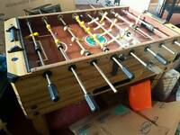 Vintage football table game