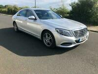 2014 Mercedes S Class S350 Cdi Silver Like new drives perfect new shape