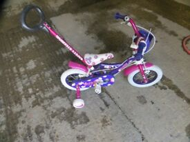 Childs Baby Bike... 12 .5 inch wheels