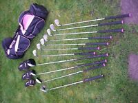 Ladies Slazenger Panther X Golf set.