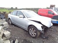 2010 AUDI A4 1.8 TFSI SE AUTO SILVER DAMAGE REPAIRABLE FULL PARTS TO REPAIR