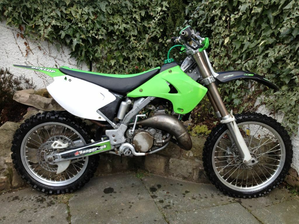 kawasaki kx 125 motocross 2 stroke in leigh manchester. Black Bedroom Furniture Sets. Home Design Ideas