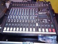 Studiomaster Powerhouse 1000x-10R and Yamaha Speakers