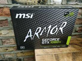 Nvidia MSI GTX 1080ti - boxed, 2 months use