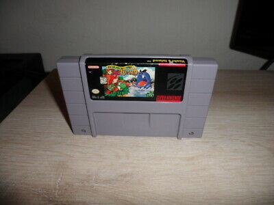 Super Nintendo SNES Super Mario World 2 Yoshi's Island Video Game Cartridge