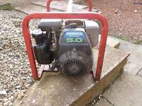 honda gc160 petrol generator