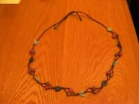 Ladies Beads and Hearts Necklace