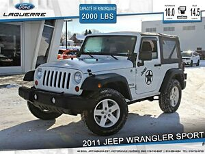 2011 Jeep Wrangler **SPORT*AUTOMATIQUE*1 TOIT*CRUISE**