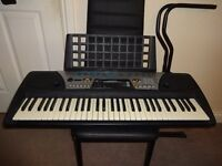 Yamaha Psr-175 Electronic Keyboard With Dj Voices & Yamaha Education Suite