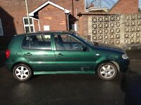 Car polo 1.4 spares or repaires still got MOT and still runs needs good look over px for bike