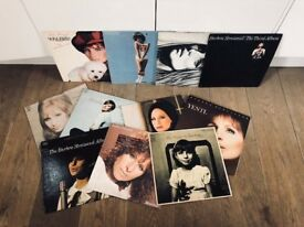 "Job Lot of 11 Barbra Streisand 12"" Vinyl Records"