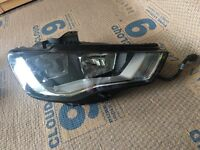 AUDI A3 2015 FRONT DRIVER SIDE HEADLIGHT GENUINE