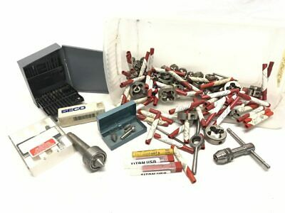 Dozens Fd Tool Co. Tap Die Bits Milling Bits Craftsman Ref 21633