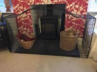 Fireplace safety gaurd