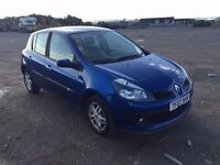 2007 Renault clio in blue 1.5 dci