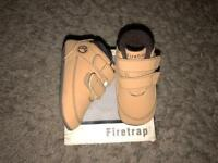 Baby Firetrap shoes size 3 brand new