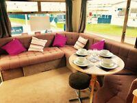 cheap 2 bed starter caravan for sale NE63 9YD for Satnav Ask DARREN for more info, open 12 months