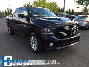 2016 Ram 1500 Sport **1367 KILO SEULEMENT, **9000$ D'OPTIONS** C
