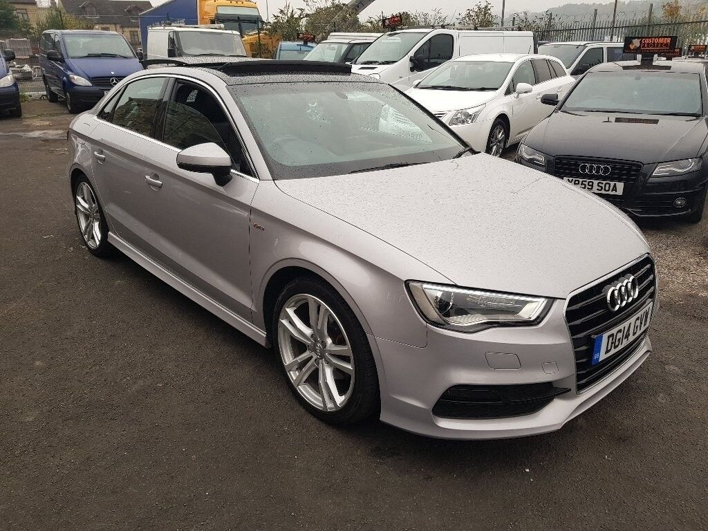 Audi A3 2 0 Tdi S Line 4dr Start Stop Pan Roof
