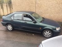 Honda Civic 1.4 petrol hatchback , long mot last owner over 14 years