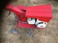 Petrol mower Rotovater