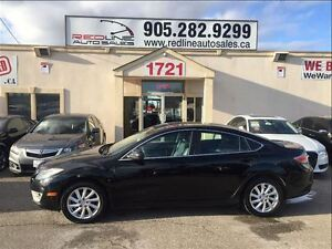 2011 Mazda MAZDA6 GT, Leather, Sunroof, WE APPROVE ALL CREDIT