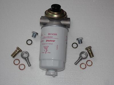Filterkopf + Handpumpe Filteroberteil Dieselfilter Kraftstofffilter + Nippel