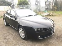 07 REG ALFA ROMEO 159 2.4 JTDM DIESEL SAT NAV TAN LEATHER NOT SAAB 93 S40 S60 V50 PASSAT VECTRA GOLF