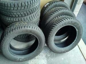 185/55R/15 GISLAVED WINTER SNOW TIRES 185/55R15 FULL SET ** MINT CONDITION ** 185/55/15 AVEO ESCORT FIESTA STOCK# 2S23