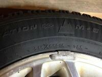 215/65 r16 Goodyear Nordic winter tires