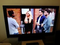 """Excellent 46"""" SAMSUNG LCD TV full hd ready 1080p freeview inbuilt."""