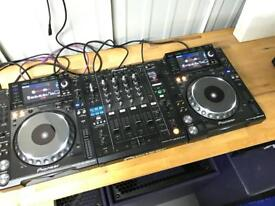 Pioneer CDJ 2000 Nexus Decks Pair + DJM 900 Nexus Mixer DJ EQUIPMENT NXS