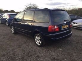 2005 FORD GALAXY 7 SEATER FAMILY CAR NICE SMOOTH DRIVING BIG FAMILY CAR ALLOYS CD ELECTRICS PX WRL
