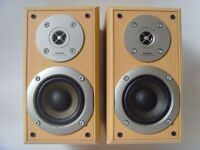 Hitachi 50W Hifi Stereo Bookshelf Speakers