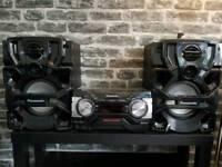 Panasonic 1700watt stereo system (LOUD!)