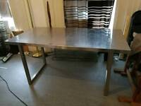 Ikea Stainless Steel Table Vika Hyttan